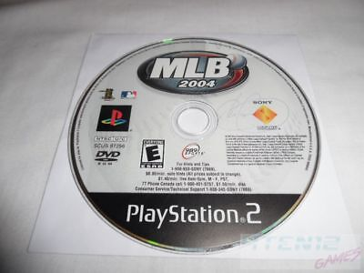 MLB 2004 - PS2 Sony Playstation 2 game Disc Only Major League Baseball 04 E