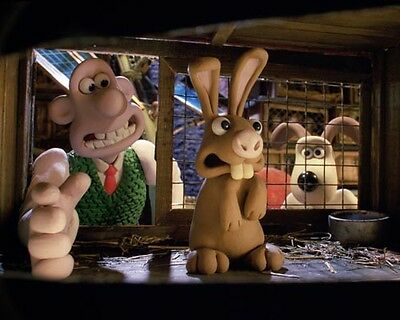 Wallace and Gromit (14631) 8x10 Photo