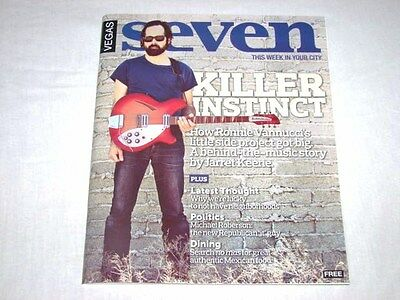 Vegas Seven Magazine The Killers Exclusive July 2011 Issue NEW