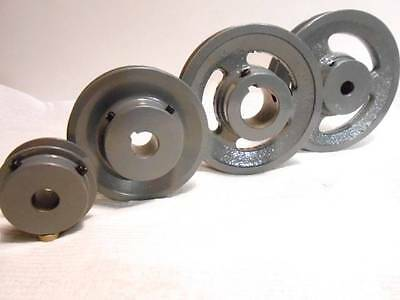 "100s of NEW V Belt Pulley 2.7"", 3"", 3 1/2"", 3 3/4, 4"", 4 1/2"", 5"" All Bore Sizes"