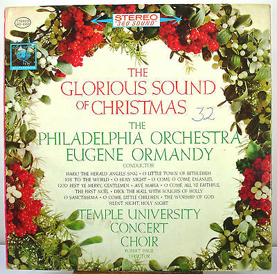 """12"""" 33 Rpm Stereo Lp - Columbia Ms-6369 - Glorious Sound Of Christmas (1962)"""