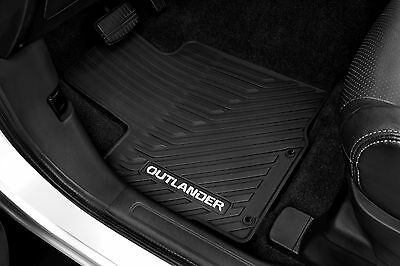 Genuine Mitsubishi All Weather 4 Piece Floor Mats Outlander 2014 - 2019 EXC PHEV