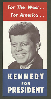 """John F. Kennedy """"For The West"""" Campaign Flyer"""
