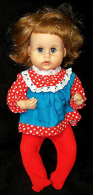 "1960s American Character 12"" Teeny Tiny Tears Doll - VGC"