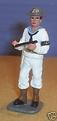 TOY SOLDIERS METAL WORLD WAR 2 AMERICAN WWII US NAVY SAILOR SHORE PATROL 54MM