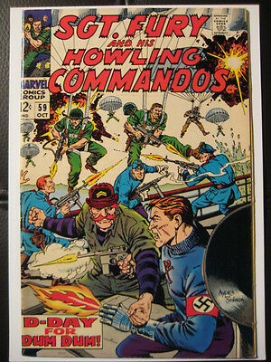 Sgt. Fury and his Howing Commandos #59 VF 8.0 L@@K!