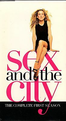 "SEX AND THE CITY ""THE COMPLETE FIRST SEASON"" 3 VHS SET 2000 hbo"
