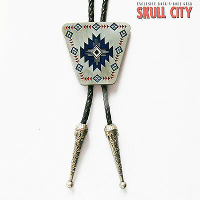 AMERICAN SOUTHWEST INDIAN II BOLO TIE - Western Krawatte Bolotie - Country USA