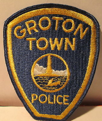 police shoulder patch - Groton Town Police, Connecticut