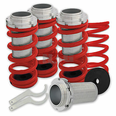Civic 96-00 Coilovers springs lowering red spring coil over