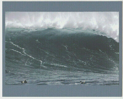 "Waimea Bay ""big Wednesday"" 1998 Closeout Wave Giclee Photograph On 8X10"" Matt"