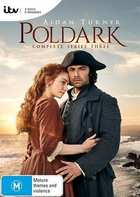 Poldark Series Season 3 DVD R4