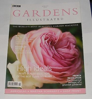 Gardens Illustrated June 2005 - A Passion For Palms/high Ideals/barnsley House
