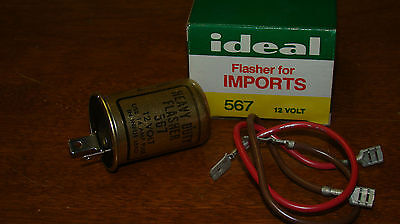 IDEAL PARKER AUTOMOTIVE 561 HEAVY DUTY FLASHER RELAY NOS