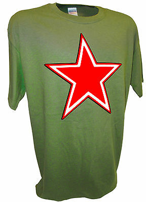 Russian Red Army Star Insignia USSR CCCP Yak 3 Fighter Airplane Allies Ww2 Tee