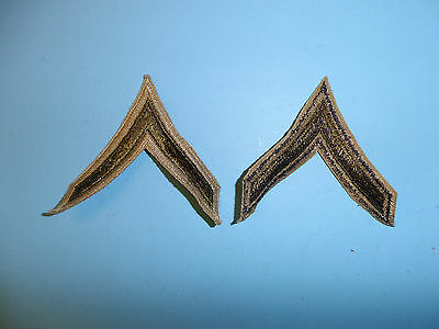 b3056p WW 2 US  Army Private First Class PFC Khaki pair