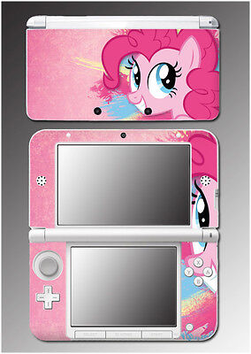 Pinkie Pie My Little Pony Earth MLP Pink Video Game Skin Decal Nintendo 3DS XL