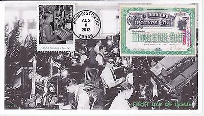 Jvc Cachets - 2013 Made In America Issue #8 First Day Cover Fdc - Only 12 Made