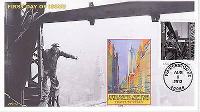 Jvc Cachets - 2013 Made In America Issue #4 First Day Cover Fdc - Only 12 Made