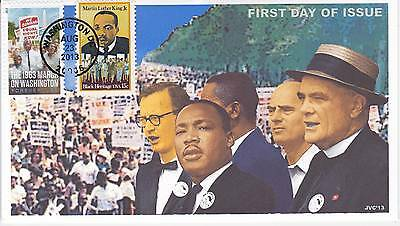 Jvc Cachets -2013 March On Washington Issue #1 First Day Cover Fdc Martin L King