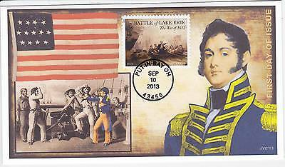 Jvc Cachets -2013 Battle For Lake Erie Issue #1 First Day Cover Fdc - L.e. 20 Ea