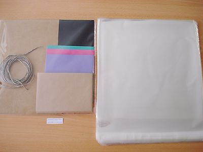 1000 Cello Bags 310 x 310mm Cellophane Bulk Buy Food Safe Reseal FREE POSTAGE
