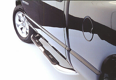 All Stainless Steel Nerf Bars Step Bars 1999-2014 FORD F250/F350/F450 REG CAB