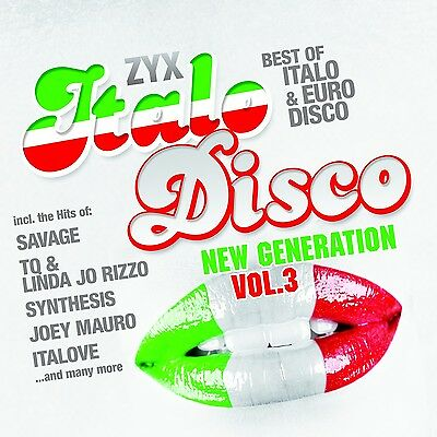 CD ZYX Italo Disco New Generation Vol.3 von Various Artists 2CDs