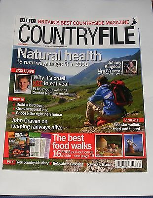 Bbc Countryfile February 2008 - Natural Health/johnny Kingdom