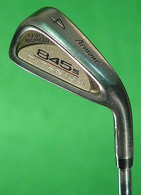 Tommy Armour 845s Titanium Single 4 Iron Tour Step 3 Steel Regular