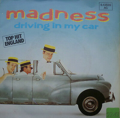 "7"" 1982 RARE SKA ! MADNESS : Driving In My Car /MINT-?"