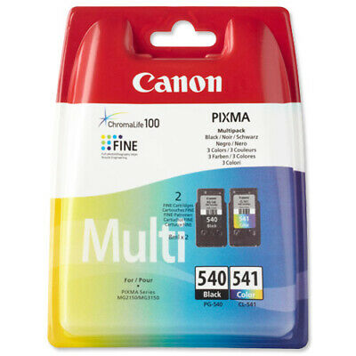 Canon PG-540/CL-541 (Yield: 180 Pages) Multi Colour Ink Cartridge