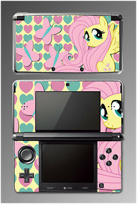Fluttershy My Little Pony Friendship is Magic Cartoon SKIN Cover Nintendo 3DS