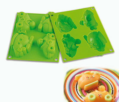 SILIKOMART STAMPO SILICONE FORMA DOLCI TORTE BABY LINE HAPPY RACING HSF 05 mshop