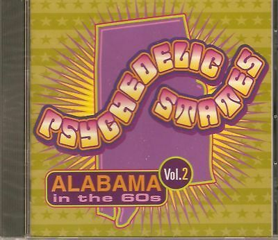 PSYCHEDELIC STATES - ALABAMA VOL 2 65-68 GARAGE ROCK + PSYCH ROCK COMPILATION CD