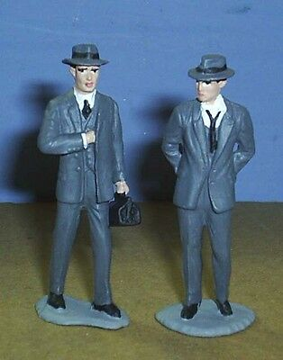 TOY SOLDIERS  1930'S AMERICAN CRIME DETECTIVE BOOKING A GANGSTER HOODLUM  54MM
