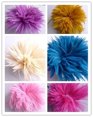 50/100/500pcs Wholesale Beautiful Rooster Feathers 10-15cm/4-6inch High Quality