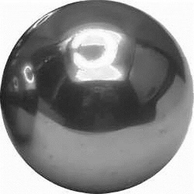 """One 1"""" solid aluminum bearing ball machined"""