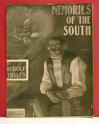 Black Americana Sheet Music - Memories of the South by Rudolf Thaler - 1908 - 2
