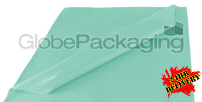 1000 SHEETS OF BABY BLUE COLOURED ACID FREE TISSUE PAPER 500x750mm HIGH QUALITY