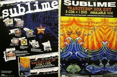 SUBLIME 2006 box set 2 sided promotional poster ~MINT condition NEW old stock~!