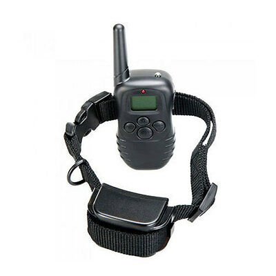 New 300M 100LV LCD Remote Dog Pet Training Collar Shock Vibrate for 1 Dog