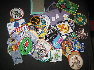 75 plus Worldwide Boy Scout activity Patches   fx