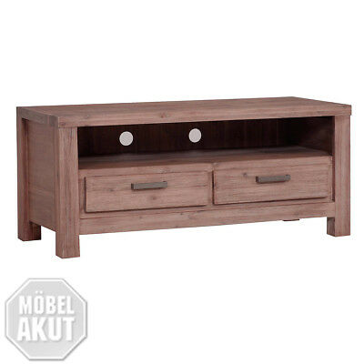 tv board tunis lowboard akazie teilmassiv sandfarbig eur. Black Bedroom Furniture Sets. Home Design Ideas