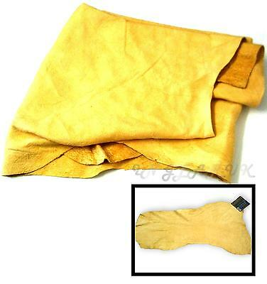 Hand Picked High Quality Genuine Chamois Skin Leather Wash Dry Real Shammy Cloth