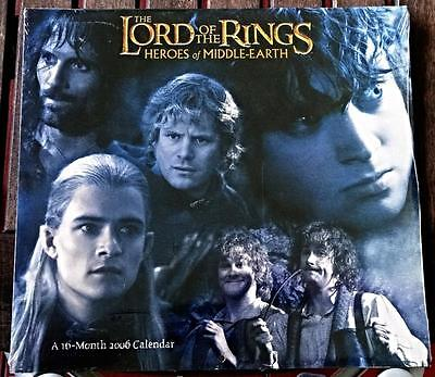 THE 2006 LORD OF THE RINGS Calendar // Still Sealed! PERFECT!