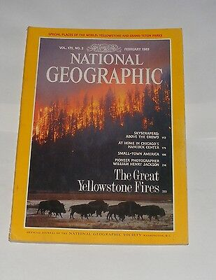 National Geographic Magazine February 1989 - Skyscrapers/hancock Center