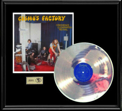 Creedence Clearwater Revival Cosmos Factory Rare Gold Record Platinum  Disc Lp
