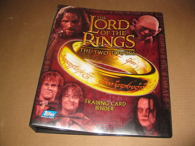 Lord of the Rings Two Towers Update Binder Album