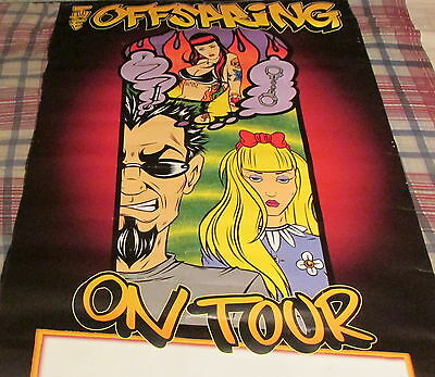 Offspring -Conspiracy / Tour - 2-Sider Promo Poster -----  K @@ L